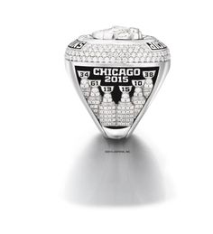 The Chicago Blackhawks showed off the 2015 championship rings that their team would receive. Blackhawks Hockey, Hockey Teams, Chicago Blackhawks, Hockey Stuff, Stanley Cup Rings, Hockey Boards, Nhl Chicago, Stanley Cup Champions, Black Hawk