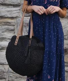 Sunkissed Bag in Black Leather Tooling, Leather Clutch, Boho Bags, Vintage Leather, Rattan, Straw Bag, Purses And Bags, Wallets, Bamboo
