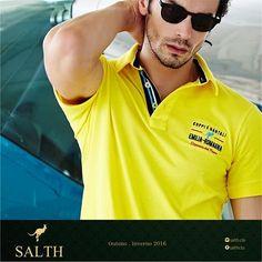 Polos para esse findi prolongado, SALTH-se... Veja toda nossa coleção em nosso novo site www.salth.com.br -------------------------------------------------------------- SALTH ®, a tendência, o estilo... #salth #salthse #polo #lookbook #tshirt #estilo #men