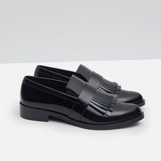 Image 5 of FRINGED PENNY LOAFER from Zara