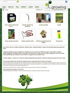 for all your Niwashi tools, weeders, seedling gifts and micro green kits