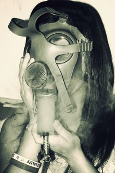 Gas mask me <3