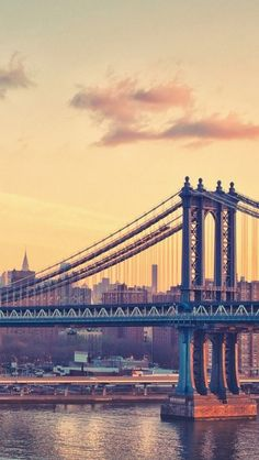 The most beautiful landscapes in the United States (50 pictures): Manhattan Bridge New York