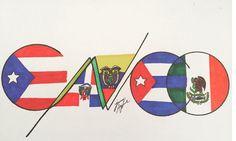 #CNCO orgullo latino Cuba  República Dominicana  México  Ecuador  Puerto Rico