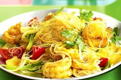 BURMESE NOODLES WITH PRAWNS
