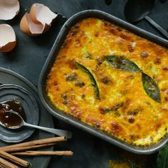 Fragrant spiced beef mince baked with raisins, bay leaves and a savoury custard topping (photography by Tasha Seccombe)