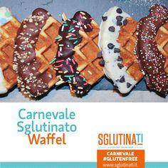 La prima ricetta che abbiamo realizzato per un Carnevale Sglutinato è quella dei Waffel! Pietanza tipica del Nord Europa e consumata nella giornata del Martedi grasso. Scopri qui la ricetta per dare un tocco europeo al Carnevale:http://ow.ly/X6hub