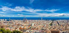 Beautiful landscape from #Barcelona in #Spain.