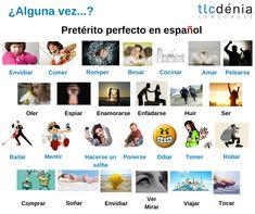 Pretérito perfecto en español. Spanish grammar.  #Spanish #ELE #español #Spain #languages #spanishgrammar