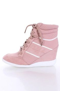 Pink Faux Leather Lace Up Sneaker Wedges @ Amiclubwear Wedges Shoes Store:Wedge Shoes,Wedge Boots,Wedge Heels,Wedge Sandals,Dress Shoes,Summer Shoes,Spring Shoes,Prom Shoes,Womens Wedge Shoes,Wedge Platforms Shoes,floral wedges,Fashion Wedge Shoes,Sexy W