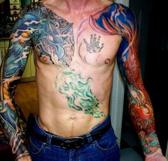 pictures of Tattoo Art Sleeves