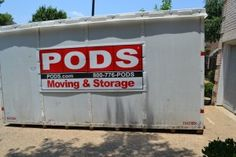 Portable on demand storage is a great idea, but use these tips to keep your life sane after you've PODS'd. Keep visiting us for more insteresting stuff. Pods Moving And Storage, Storage Pods, Storage Containers, Moving House Tips, Moving Tips, Moving Hacks, Packing To Move, Packing Tips, Diy Projects For Adults
