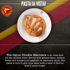 Have you tried our tantalizing Cajun Chickie Marinara yet?