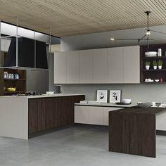 Cucine moderne con penisola a Padova. Trova la tua cucina con penisola da Arredamenti Meneghello.