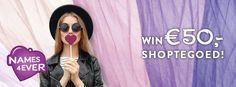 Vanessa blogt: Winactie: € 50 shoptegoed bij Names4ever!