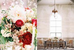 Marigny Opera House event venue in New Orleans has Tall ceilings and beautiful arched windows.  Photographer: Marissa Lambert Floral Design: Kim Starr Wise Event Design: Audra O'Dom
