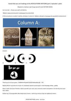 Islam, BaEL, old believers, spiders