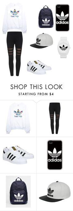 """""""Adidas"""" by junebug02 ❤ liked on Polyvore featuring adidas, women's clothing, women's fashion, women, female, woman, misses and juniors"""