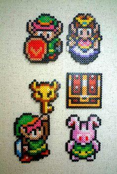 The Legend of Zelda: Link to the Past in perler beads