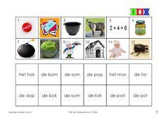 O 3 Spelling, Mini, Education, School, Dutch, Games, Note Cards, Dutch Language, Onderwijs