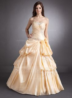 Quinceanera Dresses - $186.69 - A-Line/Princess Sweetheart Floor-Length Taffeta Quinceanera Dress With Ruffle Lace Beading Flower(s) (021016248) http://jjshouse.com/A-Line-Princess-Sweetheart-Floor-Length-Taffeta-Quinceanera-Dress-With-Ruffle-Lace-Beading-Flower-S-021016248-g16248