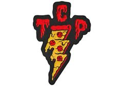 PRE-ORDER TCP Pizza Patch  Taking Care of Pizza by nikscarlett