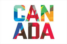 Cool Canada wordmark as part of new Canadian Olympic Team branding. Olympic Logo, Olympic Team, Olympic Games, Typography Design, Logo Design, Lettering, Graphic Design, Brand Design, Logo Voyage