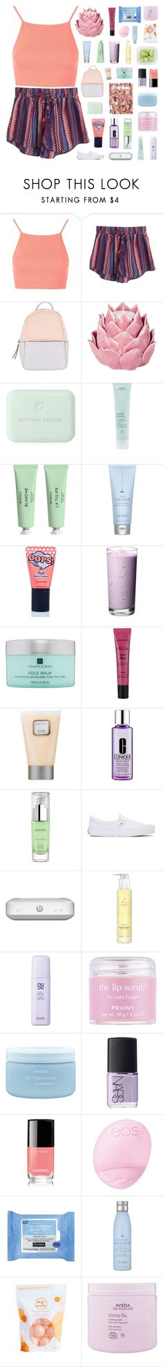 """the colors of this sound like a shape"" by when-you-listen ❤ liked on Polyvore featuring Topshop, Tolani, Calvin Klein, Zara Home, Bottega Veneta, Aveda, Byredo, Drybar, BERRISOM and Temple Spa"