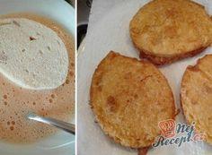 Smažený knedlíček ve vajíčku Cornbread, Ethnic Recipes, Food, Millet Bread, Essen, Meals, Yemek, Corn Bread, Eten