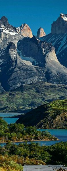 Read More About Torres del Paine National Park, Patagonia, Chile. Places Around The World, Oh The Places You'll Go, Places To Travel, Places To Visit, Around The Worlds, Torres Del Paine National Park, Beautiful Landscapes, The Great Outdoors, Wonders Of The World