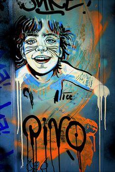 ღღ Streetart Berlin  Artist: ALICE