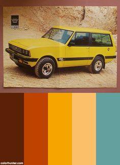 I-h Scout By Monteverdi Color Scheme