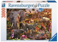 Puzzle African Animals Ravensburguer 3.000 peças