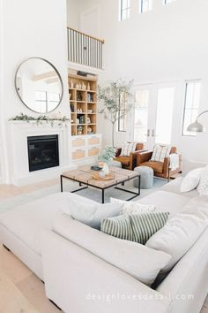 40 Modern Living Room Furniture Design and Decorating - - Farm House Living Room, Living Room Scandinavian, Room Furniture, Furniture, Living Room Designs, Living Decor, House Interior, Room Design, Room Furniture Design