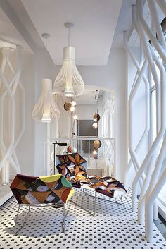 Very good concepts in the case of home improvment. home improvement stores. Home decor. Interior Desing, Commercial Interior Design, Interior Exterior, Commercial Interiors, Interior Design Inspiration, Interior Architecture, Interior Decorating, Design Comercial, Showroom Design