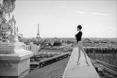 """Ballerina Project in Paris: #Ballerina - @katieboren1 at #PalaisGarnier #Paris #Bodysuit by @wolfordfashion #Wolford #WolfordBodywear #ballerinaproject_…"""