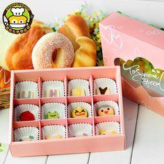 烘焙包裝雪媚娘綠豆糕餅幹點心糕點包裝盒子冰皮月餅盒月餅包裝盒