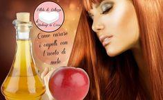 L'aceto di mele è un prodotto naturale che apporta numerosi benefici ai capelli:è rinforzante, lucidante, emolliente, sgrassante e antiforfora
