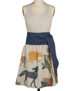 Flora & Fauna Apron only $40 on Artsy Modern