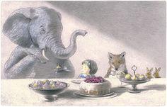 岡田千晶作品 An illustration by artist Chiaki Okada. (From the official Chiaki Okada website!)