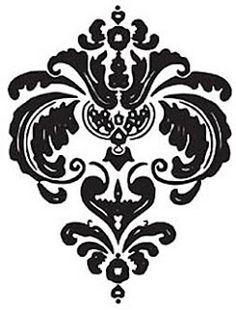Коллекция картинок: Трафареты с узорами, лилиями и коронами