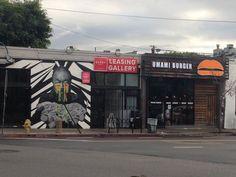 LAダウンタウン・アートディストリクト 壁画&アートな街並み  Los Angeles Art District Wall Art Archtecture
