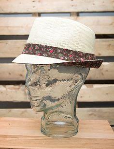 Floral Trim Fedora // $23.99 // shopboldthreads.com // #bold #threads #boldthreads #hat #fedora #accessories #fashion #floral