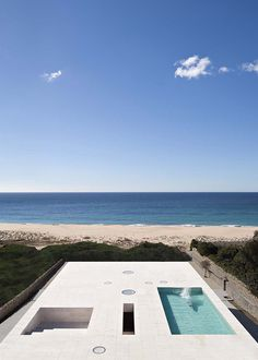 Erected like a jetty to the sea in Cadiz: House of the Infinite
