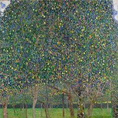 Грушевые деревья. Густав Климт