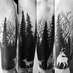 Forêt #fisthekey #lechalettattoo
