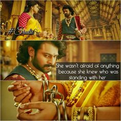 I adore every moment of Devasena and Bahubali