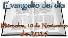 Gospel of the day (Thursday, November 10, 2016) Closed Caption