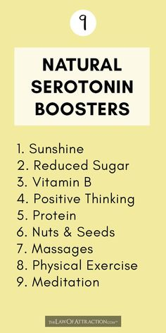 Low On Serotonin? 9 Natural Serotonin Boosters To Try Are you low on serotonin? As you may already know, serotonin is an important neurotransmitter that sends messages from one area of your brain to another. Studies suggest it plays a role in a wid Health And Wellbeing, Health And Nutrition, Health Benefits, Health Fitness, Fitness Memes, Health And Wellness Quotes, Fitness Sayings, Nutrition Websites, Health Care
