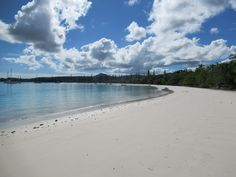 Kuto Beach has one of the finest swimming and windsurfing beaches on the Isle of Pines in New Caledonia, South Pacific. Snorkelers in search of coral reefs should look elsewhere Coral Reefs, Windsurfing, South Pacific, Beaches, Swimming, Search, Water, Outdoor, Swim